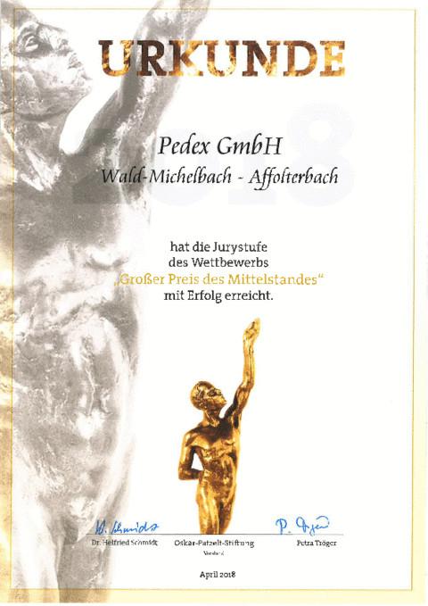Mittelstandspreis Jurystufe - Perlon Nextrusion 1
